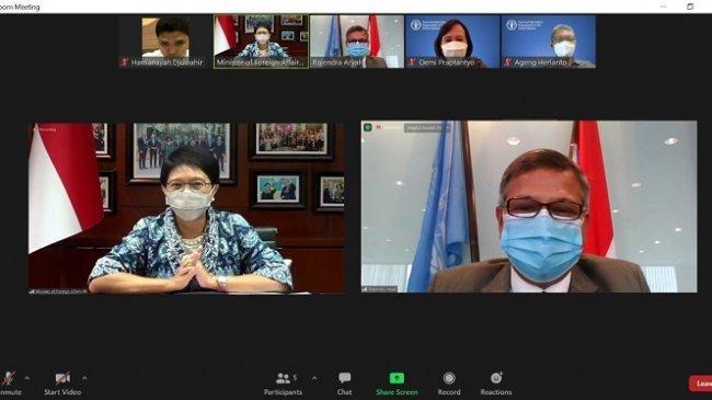 Kepala Perwakilan FAO Rajendra Aryal Serahkan Surat Kepercayaan Kepada Menlu RI
