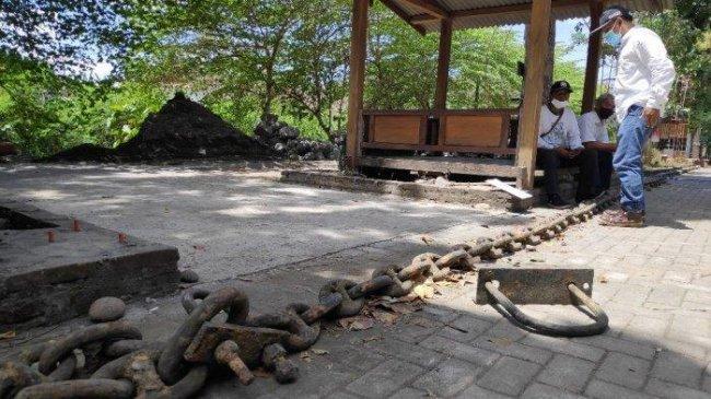 Terungkap Asal-usul Rantai Berukuran Jumbo di Bantul