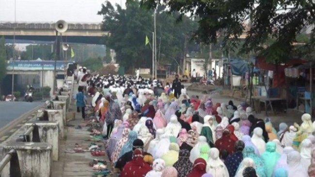 50 Persen Masjid di Jakarta Pusat Tetap Gelar Salat Idul Adha