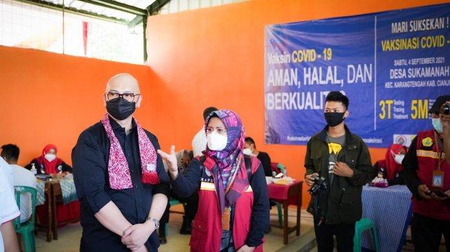 Geber Vaksinasi, ABJ Dukung Pengembangan Agrowisata Desa Sukamanah Cianjur