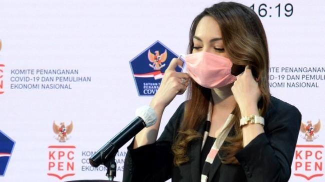 dr Reisa Ajak Masyarakat Pakai Masker Ganda dan Skrining Pribadi Sebelum Bepergian