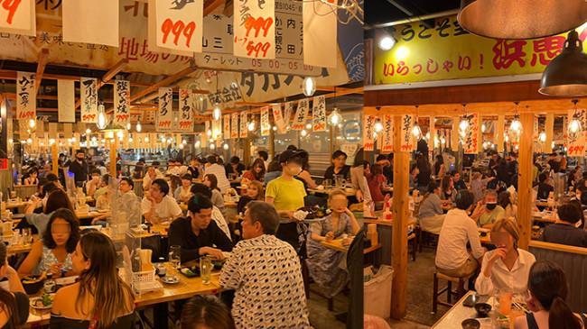 Restoran di Tokyo Ramai Pengunjung di Tengah Pemberlakuan PSBB, Warga Jepang Merasa Malu