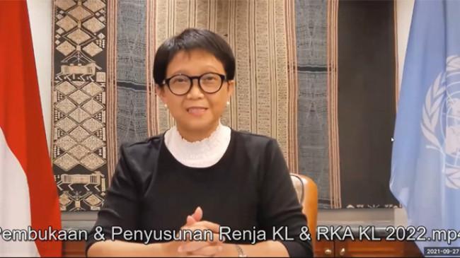 Menlu Retno Singgung Dose Sharing Vaksin Covid-19 yang Hampir Kadaluarsa