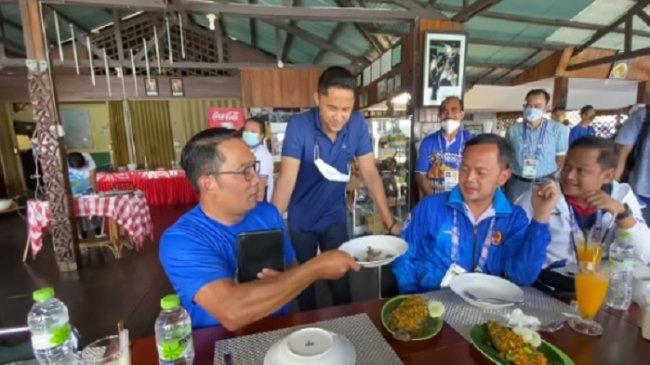 Perintah Khusus Ridwan Kamil, Hengky Kurniawan dan Bima Arya Wajib Makan Ulat Sagu