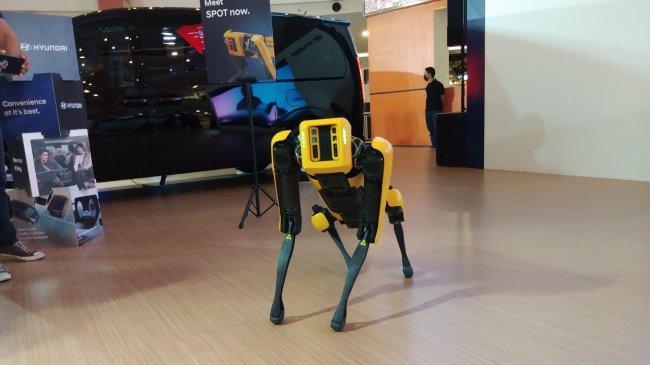 Hyundai Motors Indonesia Kenalkan Robot Pintar Berkaki Empat 'Spot'