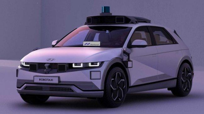 Hyundai dan Motion Kembangkan Taksi Otonom dengan Platform Ioniq 5