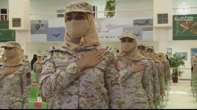 Untuk Pertama Kalinya Arab Saudi Punya Tentara Perempuan, Juga Hakim Perempuan