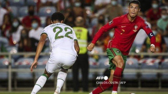 Ronaldo si Manusia Gol, Berjanji Cetak Gol Lebih Banyak Lagi Setelah Pecahkan Rekor 111 Gol