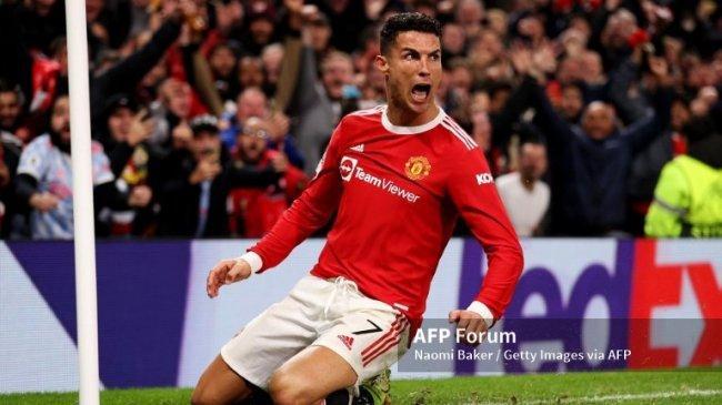 Ronaldo Update Rekor Gol Liga Champions, Beda 14 dengan Messi. Gol Tandukan Ke-140 Sepanjang Karier