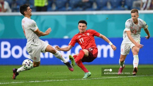 Ruben Vargas, Eksekutor Gagal Swiss di Perempat Final Euro 2021, Bintang Masa Depan Augsburg