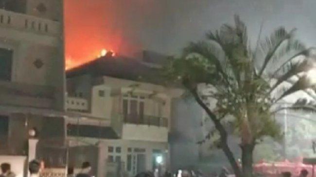 Rumah 2 Lantai di Pantai Indah Kapuk Kebakaran