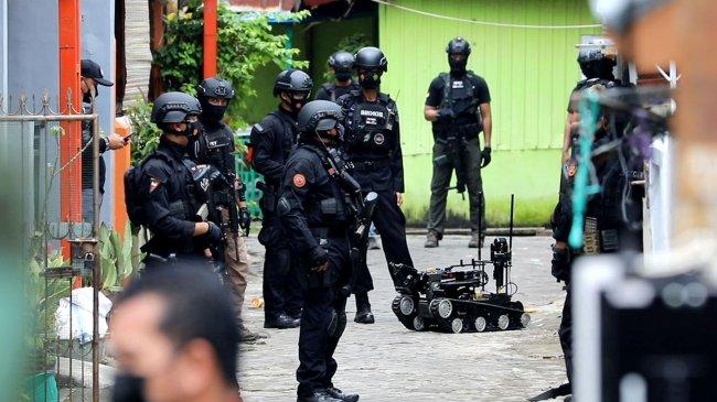 Terduga Teroris Jaringan Kelompok JAD Ditangkap di Makassar