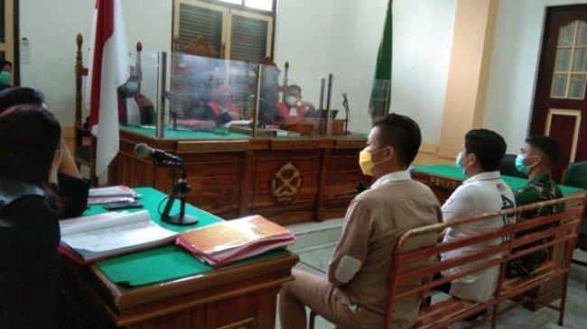 Gebuki Anggota TNI AD, Dua Pemuda dan Satu IRT Dituntut Penjara 3 Tahun
