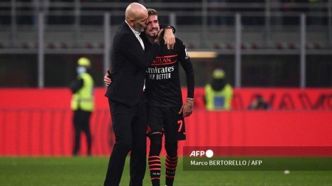 Samu Castillejo Menangis Bahagia Bawa AC Milan Menang 3-2 Setelah Sempat Tertinggal 0-2 dari Verona