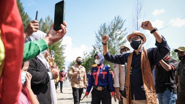 Sandiaga Uno: Protokol Kesehatan Tetap yang Utama, Tak Usah Pertentangkan dengan Pariwisata
