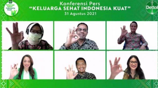 Sehat dan Bersih Jadi Gaya Hidup Masa Pandemi, Gerakan Keluarga Sehat, Indonesia Kuat Diluncurkan