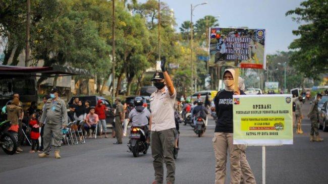 Tidak Ada Lagi Penyekatan di Titik Masuk Kota Bogor, Satgas Covid-19 Tetap Awasi Prokes