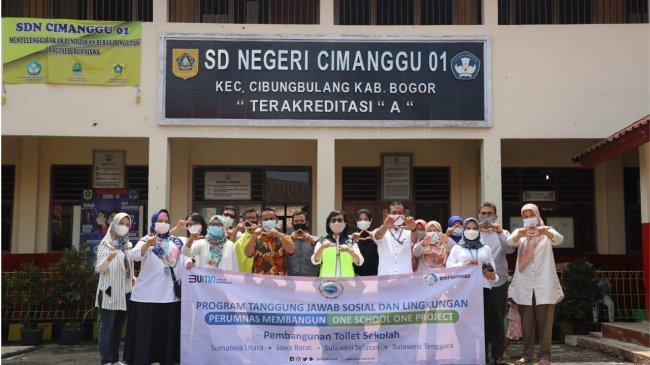 Perumnas Renovasi Fasilitas Sanitasi Sekolah di Empat Provinsi