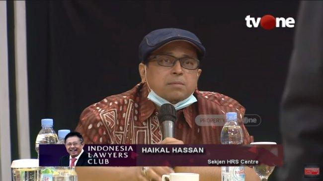 Di ILC, Haikal Hassan Sebut Habib Rizieq Tak Disukai Negara: Toh Pak Jokowi Tidak Anti-anti Banget