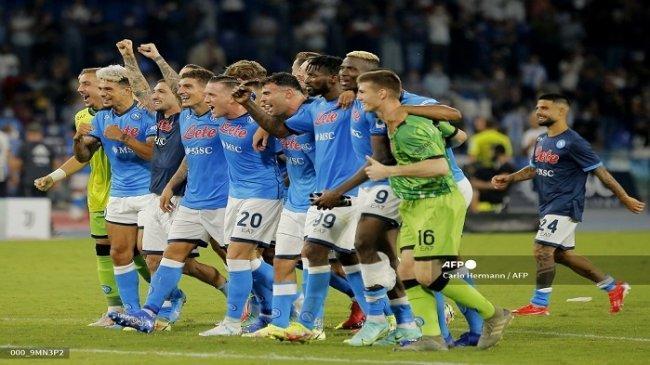 Klasemen Liga Italia: Napoli Ngamuk atas Udinese, Inter Milan & AC Milan jadi Korban