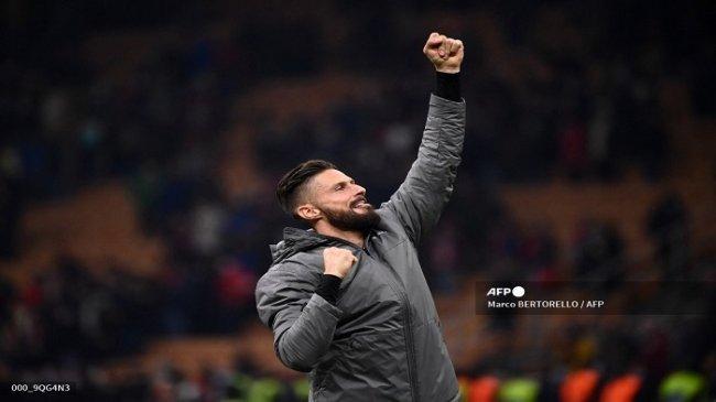 AC Milan di Puncak Klasemen, Unggul 3 Poin Atas Napoli. Olivier Giroud: Yang Penting Raih Tiga Poin