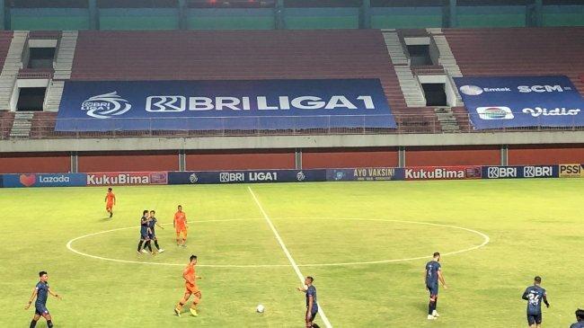Hasil Persiraja vs Arema FC di Babak Pertama BRI Liga 1 2021, M. Rafli Bawa Singo Edan Unggul 0-1
