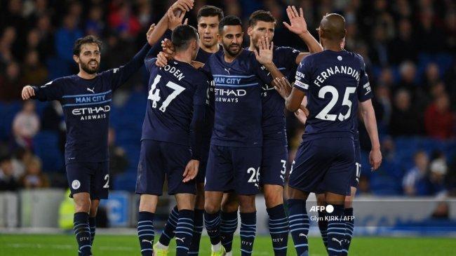 Fakta Kemenangan Manchester City atas Brighton: Gundogan Dekati Ozil, Phil Foden Cemerlang