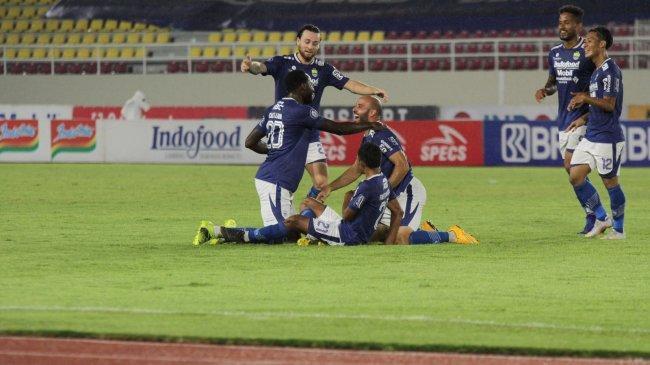 Hasil BRI Liga 1 2021: Persib Bandung vs PSS Sleman, Menang 4-2, Maung Bandung Geser Bhayangkara FC