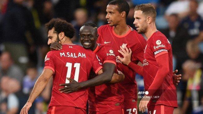 Jadwal Liga Inggris 2021 Pekan ke-7, Live Mola TV, Liverpool vs Manchester City, MU vs Everton