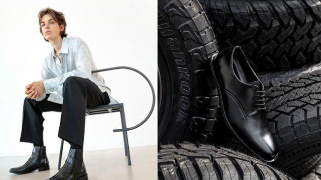 Hankook Tire dan Yase Bikin Sepatu Daur Ulang dari Ban