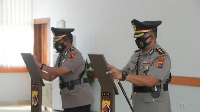 Kapolres Puncak Jaya Diganti, Kapolda Minta Kapolres Baru AKBP Adi Tri Widiyanto Bekerja Maksimal