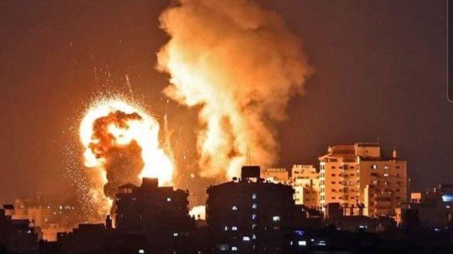 Korban Tewas Bertambah Jadi 67 Rakyat Palestina Akibat Serangan Israel ke Gaza