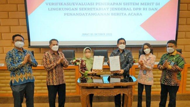 Wujudkan Reformasi Birokrasi, Setjen DPR RI Komitmen Terapkan Sistem Meritokrasi