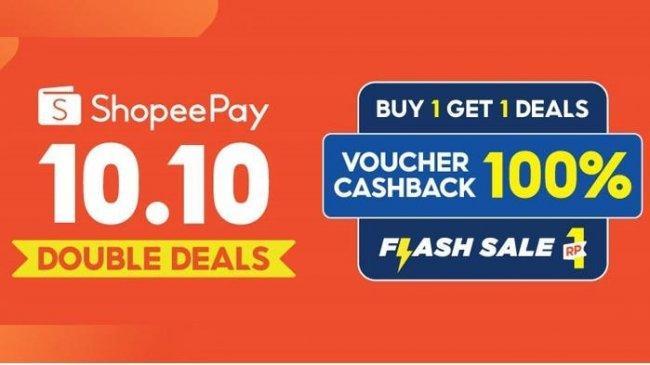Sambut Harbolnas, ShopeePay Hadirkan Kampanye 10.10 Double Deals