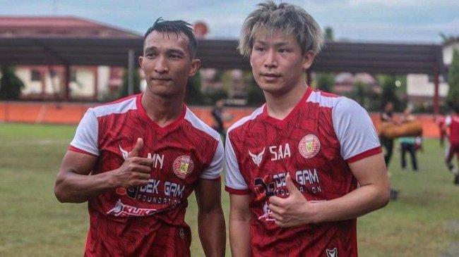 Liga 1 - Gelandang Asing Persiraja, Shori Murata Betah Tinggal di Aceh