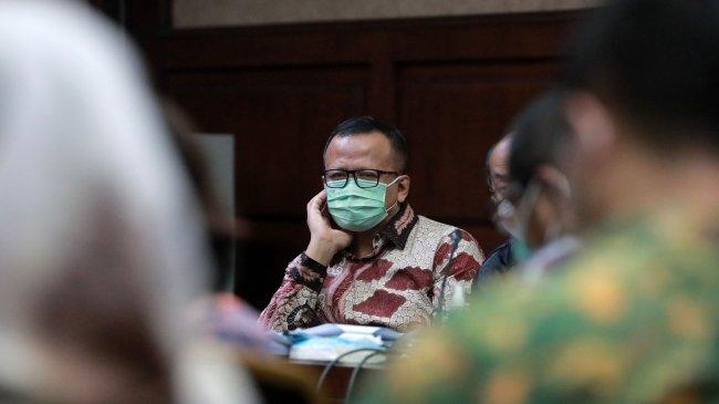 Isi Lengkap Pledoi Edhy Prabowo, Sebut Nama Prabowo hingga Merasa Tuntutan Jaksa Sangat Berat