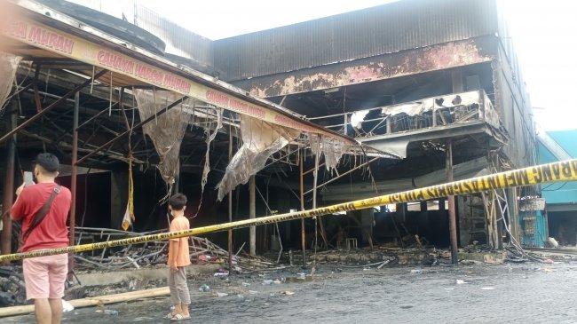 Buntut Kebakaran, Polisi Periksa Sejumlah Karyawan Cahaya Swalayan