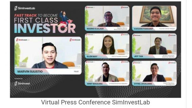 SimInvestLab, Platform Digital untuk Belajar Investasi Saham Sampai Jago Tanpa Keluar Biaya