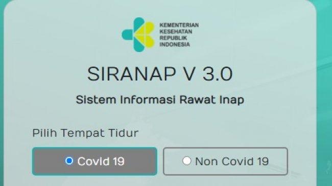 Cara Cek Ketersediaan Kamar Rumah Sakit Pasien Covid-19, Akses yankes.kemkes.go.id/app/siranap