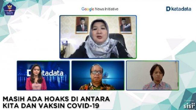 Kemenkes Sebut Hoaks Jadi Hambatan Vaksinasi Covid-19 di Indonesia