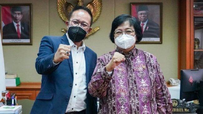 Kegiatan Pro Lingkungan di HPN 2022 Bisa Menjadi Program PWI dan Kementerian LHK kata Siti Nurbaya