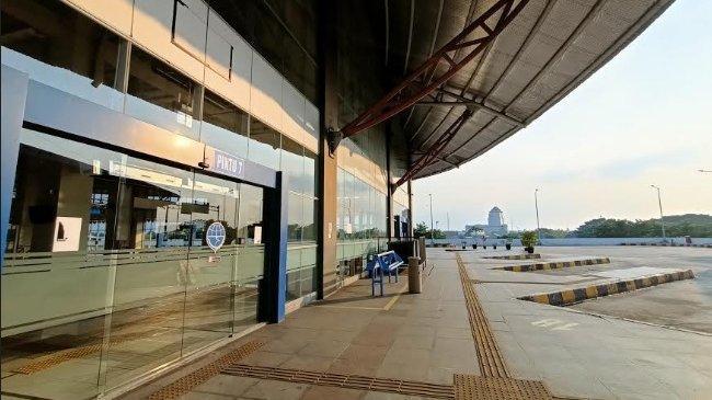 Sejak Pemberlakuan PPKM, Terminal Pulo Gebang Sepi, Nyaris Tak Ada Penumpang Bus