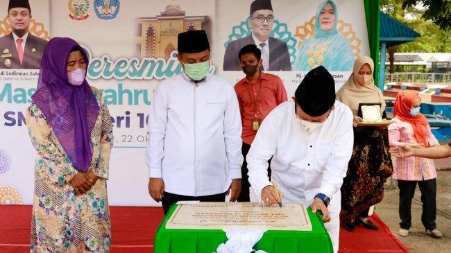 Resmikan Masjid Syahrul Muhajirin, Syarief Hasan: Ini Komitmen Pada Sila Pertama Pancasila