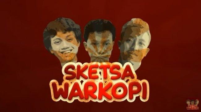 Viral Tiga Cowok Reinkarnasi Dono, Kasino dan Indro, Bikin Sketsa Warkop