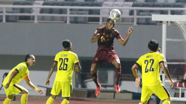 Sriwijaya FC vs PSPS Riau, Liga 2 2021 - Pertempuran 90 Menit Dua Sahabat Lama