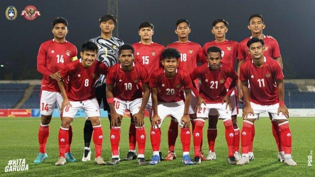 Hasil Timnas Indonesia U23 vs Tajikistan Babak I: Skor Imbang 1-1, Hanis Saghara Cetak Gol