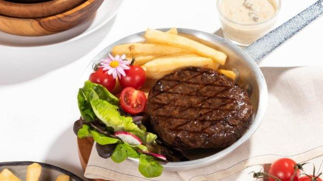 Non-Kolesterol, Steak Berbahan 100 Persen Protein Nabati Ada di Jakarta