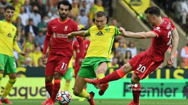 Live Streaming Mola TV, Norwich City vs Liverpool di Carabao Cup, Mulai Pukul 01.45 WIB