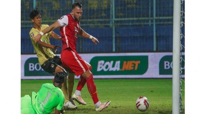 Liga 1 - Gol Tunggal Marko Simic Bawa Persija Jakarta Kalahkan Dewa United, Sudirman Beri Evaluasi