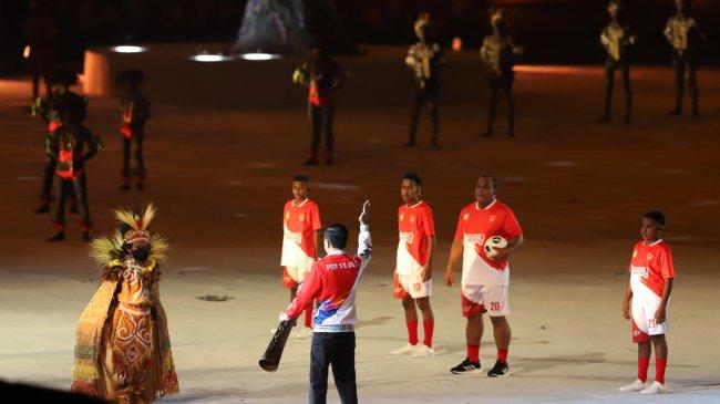 Jokowi Ungkap Rasa Bangga saat Pembukaan PON XX Papua, Pemerintah Pastikan Aman